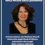 Giuliana Nuvoli conversazione Ripartire con la cultura nella Milano delle pandemia